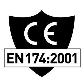 CE-märkning EN174:2001