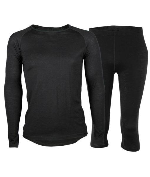 Paketpris Merino Top – Warm Knee Pants M
