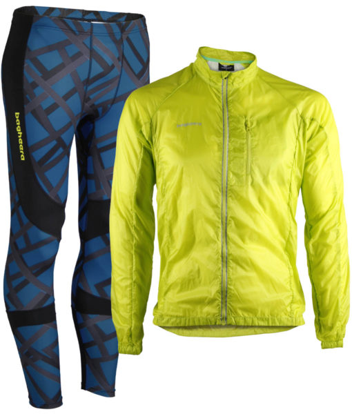 Paketpris 3D Compression Tights + Feather jacket M