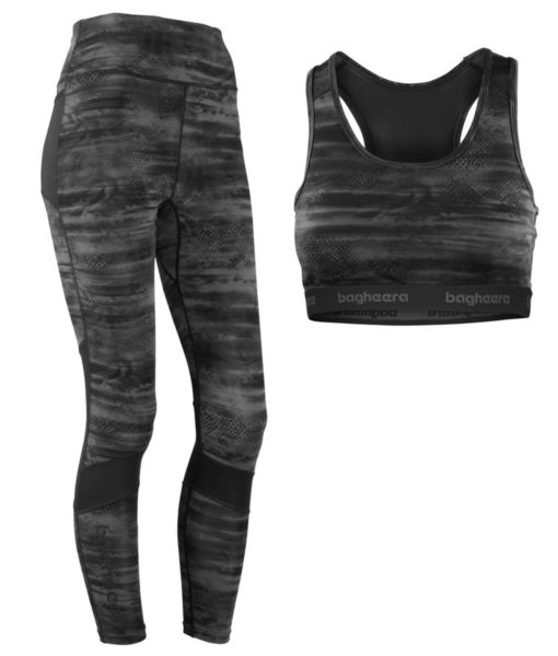 Paketpris Gloss Tights + 3d Sports Bra W