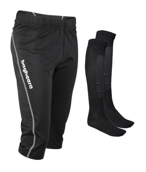 Paketpris Tights Knee JR + Orienteering Socks