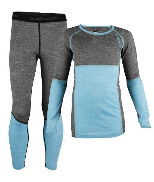 Paketpris Merino Cool Top JR + Merino Cool Pants JR